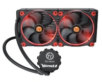 Thermaltake: Water 3.0 Riing - 280 Liquid Cooling System (Red)