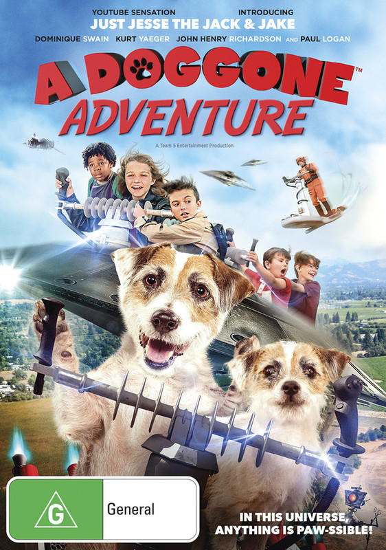 A Doggone Adventure on DVD