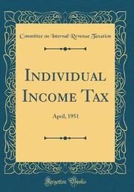 Individual Income Tax by Committee on Internal Revenue Taxation image