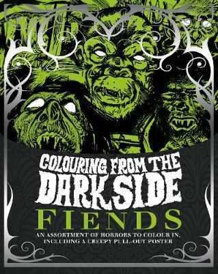 Colouring from the Dark Side Fiends by Parragon Books Ltd image