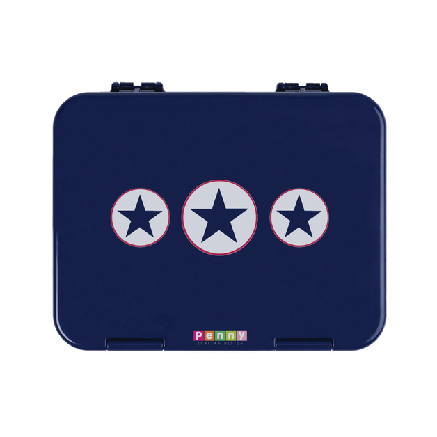 Navy Star Bento Box
