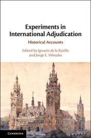 Experiments in International Adjudication