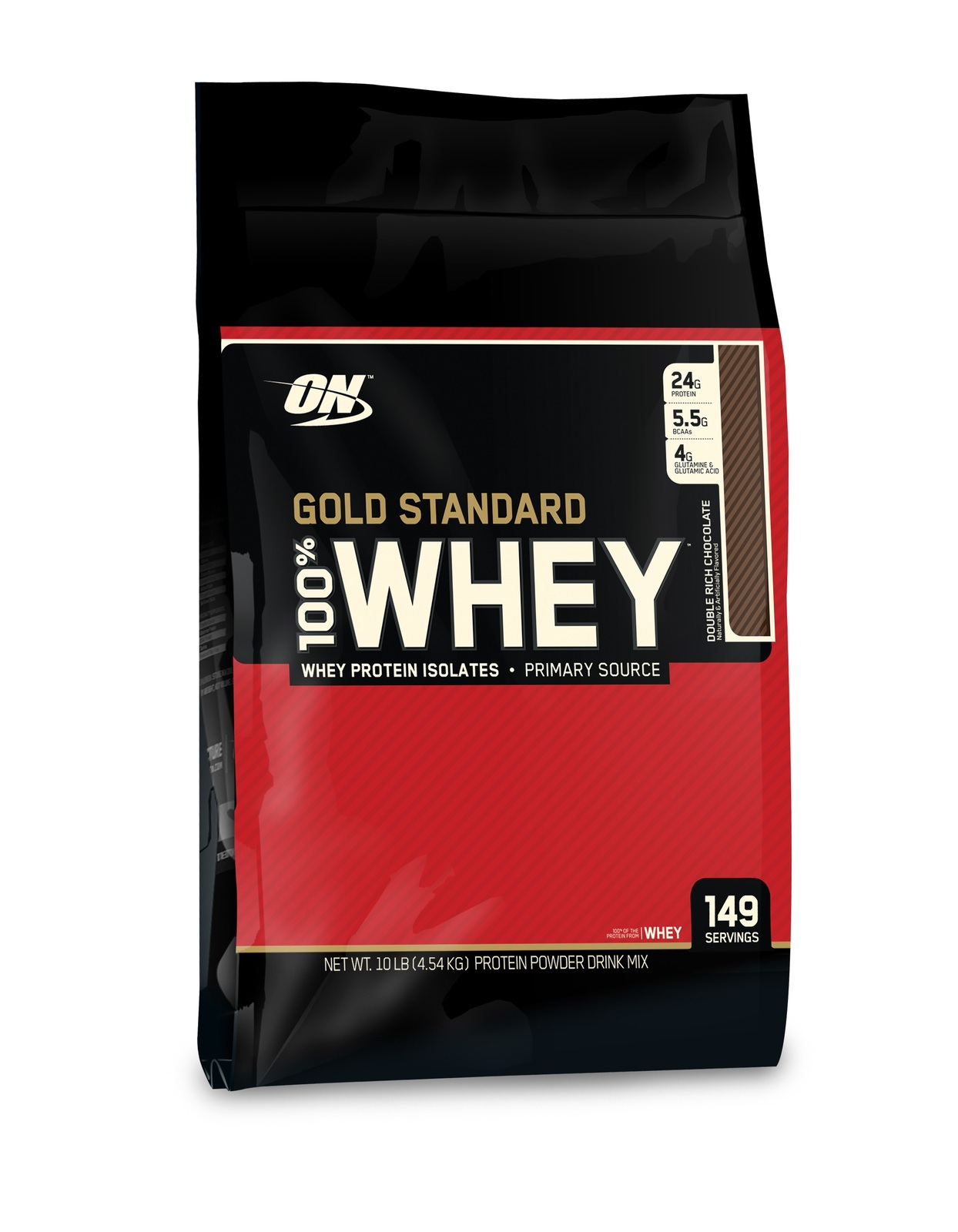 Optimum Nutrition Gold Standard 100% Whey - Double Rich Chocolate (4.55kg) image