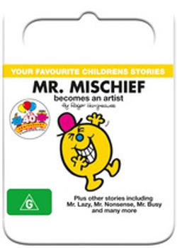 Mr Men: Mr Mischief Becomes an Artist on DVD image