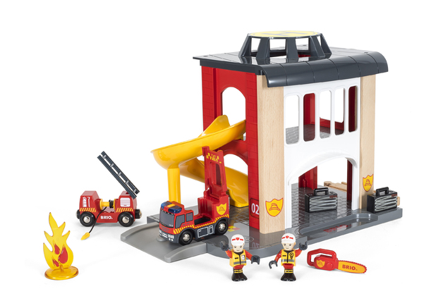 Brio: World - Fire Station