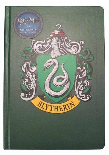 Harry Potter: A5 Notebook - Slytherin