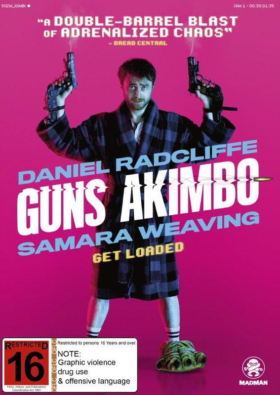 Guns Akimbo on DVD