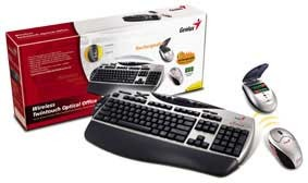 GENIUS WIRELESS TWIN TOUCH+ RECHARGEABLE KEYBOARD