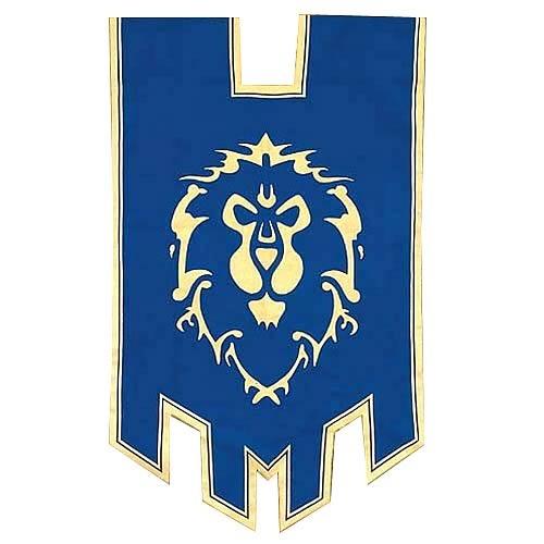 World of Warcraft Alliance War Flag