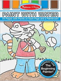 Melissa & Doug: Blue Paint With Water Kids' Art Pad