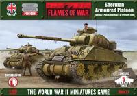 Flames of War Sherman Armoured Platoon