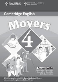 Cambridge Young Learners English Tests Movers 4 Answer Booklet by Cambridge ESOL image