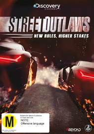 Street Outlaws: New Rules, Higher Stakes on DVD