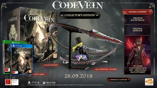 Code Vein Collector's Edition for PS4