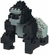 nanoblock: Critter Series - Gorilla