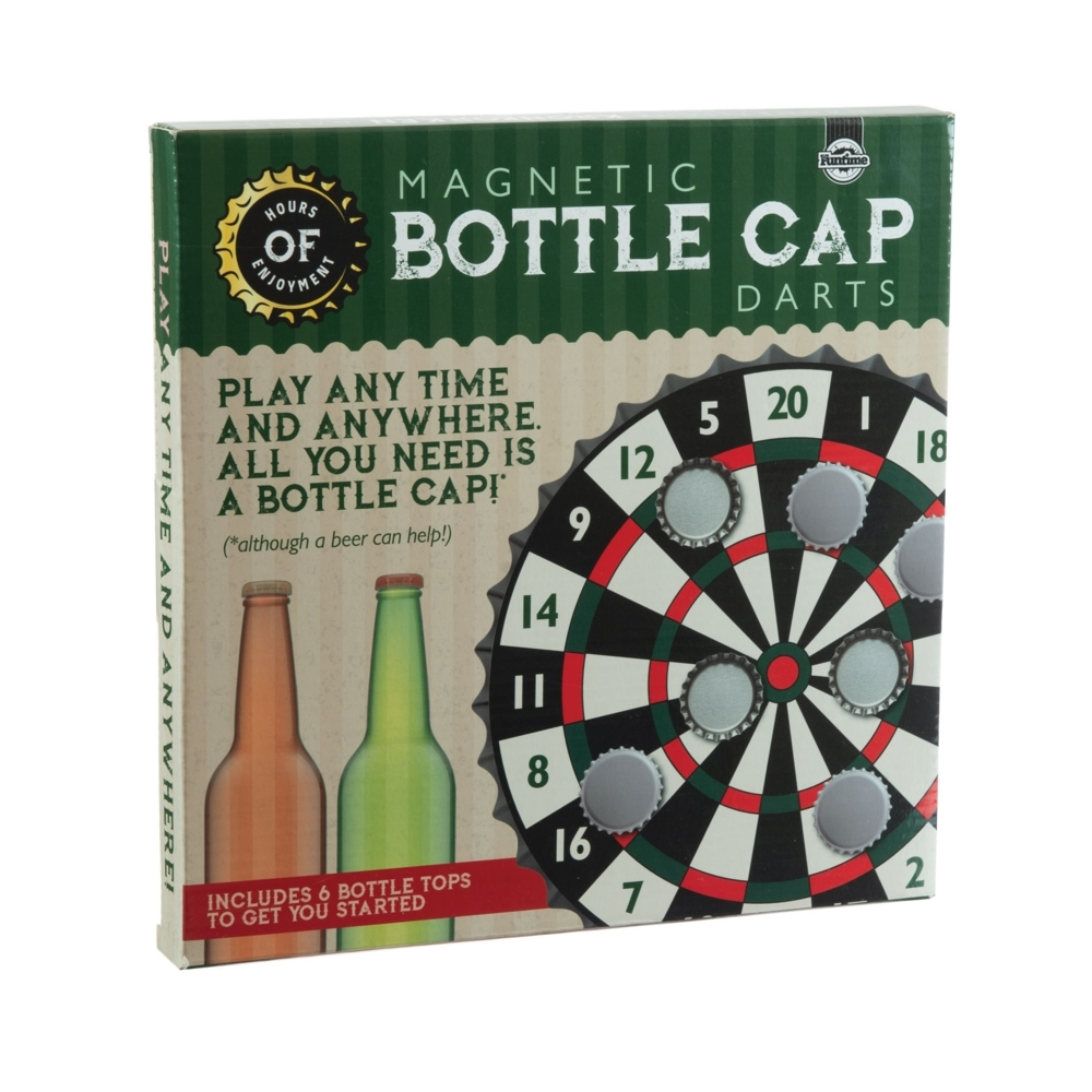Magnetic Bottle Cap Darts image