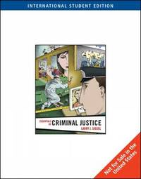 Essentials of Criminal Justice by Larry J Siegel image