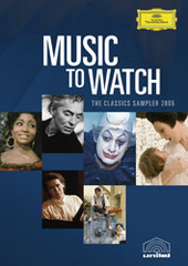 Music to Watch -- The Classics Sampler 2005 on DVD