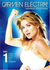 Carmen Electra  Aerobic Striptease - Disc 1 on DVD