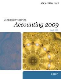 New Perspectives on Microsoft Office Accounting: Brief by Sandra Cable image