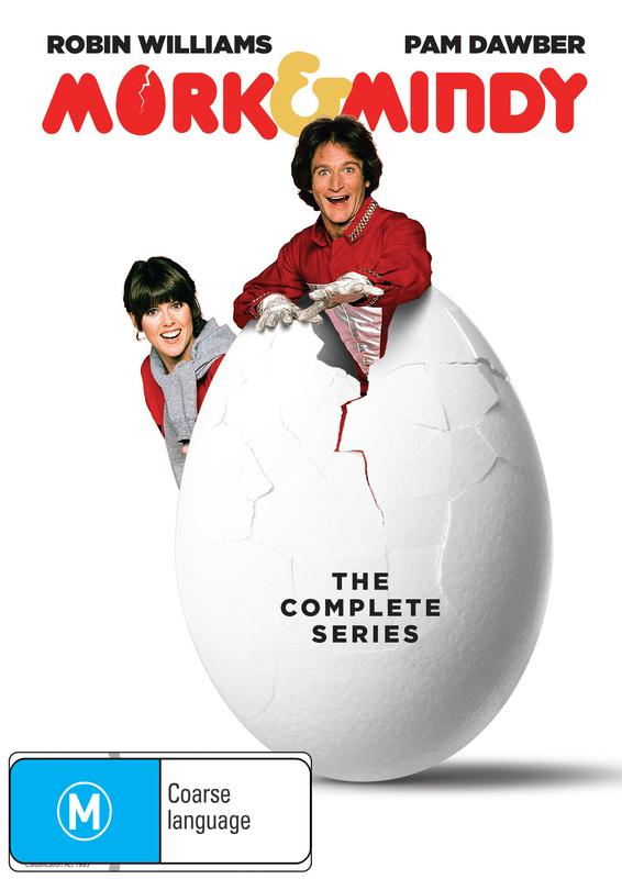Mork & Mindy Complete Seasons 1-4 on DVD