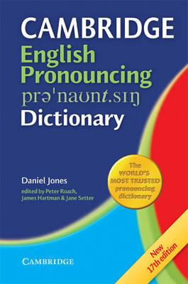 English Pronouncing Dictionary by Daniel Jones
