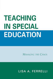 Teaching in Special Education by Lisa A. Ferrelli image