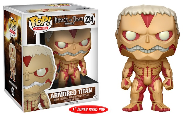 "Attack on Titan - Armored Titan 6"" Pop! Vinyl Figure"
