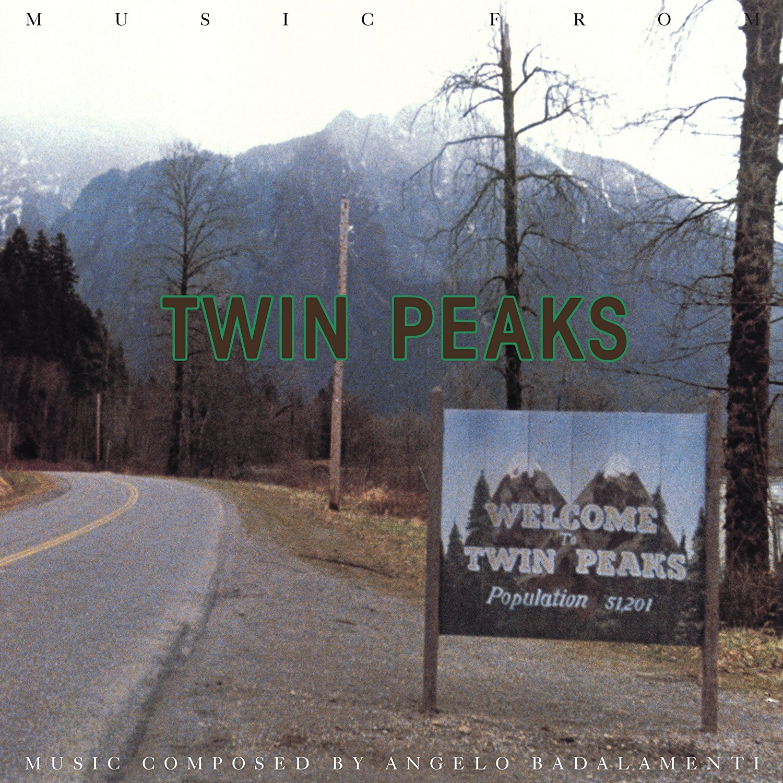 Music From Twin Peaks (LP) by Angelo Badalamenti image