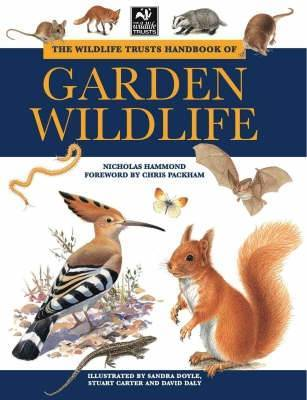 The Wildlife Trusts Handbook of Garden Wildlife by Nicholas Hammond image