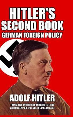 Hitler's Second Book by Adolf Hitler image