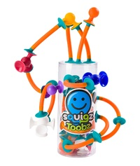 Fat Brain Toys: Squigz Toobz - 18-Piece Set