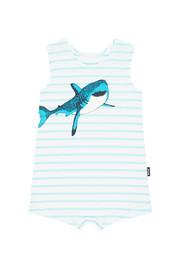 Bonds Toughies Suit - Shark (6-12 Months)