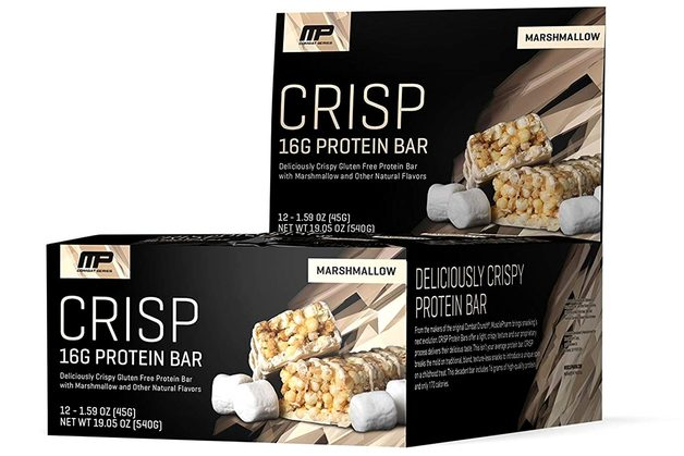 MusclePharm Combat Crisp Bar - Marshmallow (Box of 12)