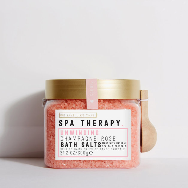 We Live Like This: Spa Therapy Bath Salt - Champagne Rose