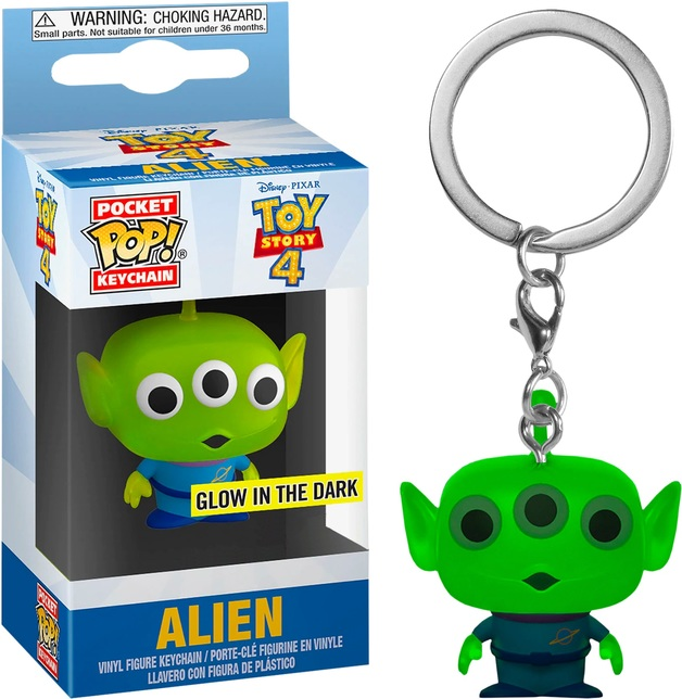 Toy Story: Alien Pocket Pop! Keychain
