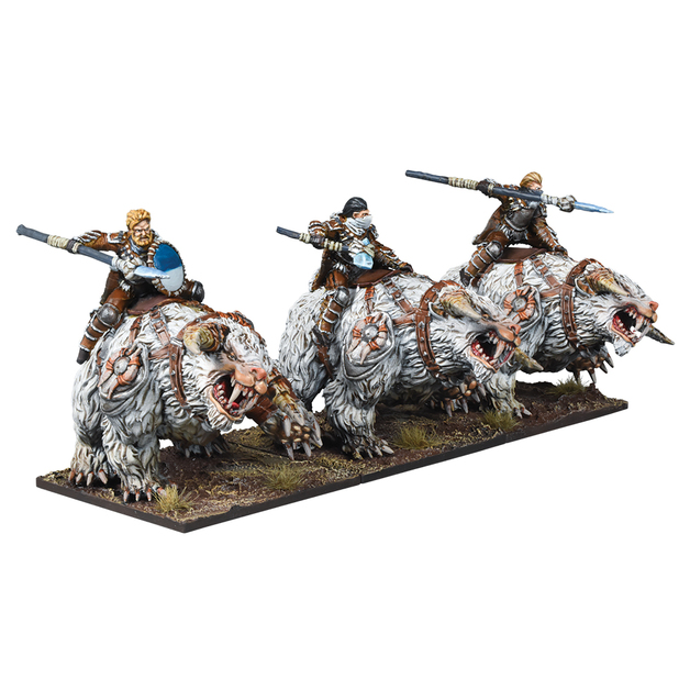 Kings of War: Northern Alliance Frost Fang Cavalry Regiment