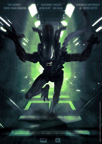 Alien: Premium Art Print - Alien