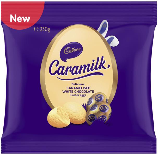 Cadbury: Caramilk Eggs Bag (230g) 14pk