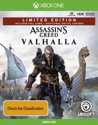 Assassin's Creed Valhalla Limited Edition for Xbox One image