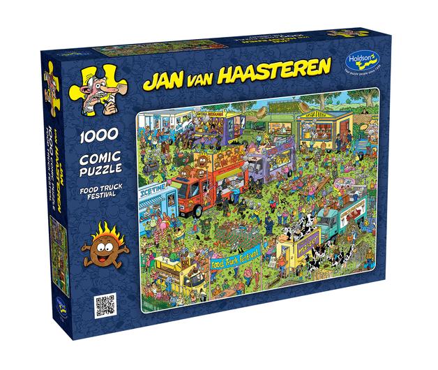 Holdson: 1000 Piece Puzzle - Van Haasteren (Food Truck Festival)