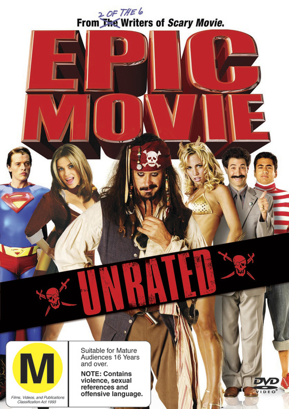 Epic Movie - Unrated on DVD