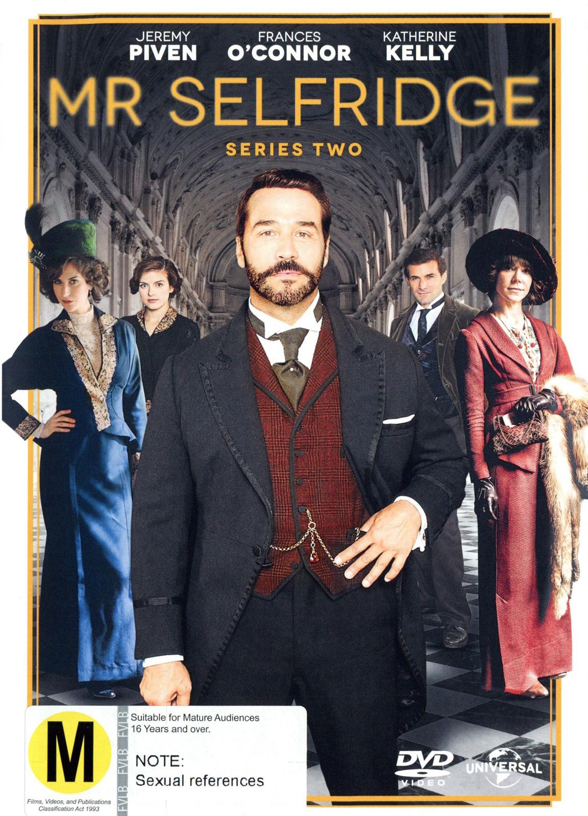 Mr Selfridge - Series 2 on DVD image