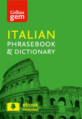 Collins Italian Phrasebook and Dictionary Gem Edition by Collins Dictionaries image