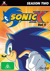 Sonic X - Season 2: Vol. 1 on DVD