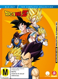 Dragon Ball Z Remastered Uncut: Complete Collection (37 Disc Set) on Blu-ray