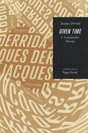 Given Time by Jacques Derrida