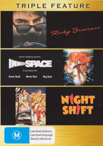 Risky Business / Innerspace / Night Shift - Triple Feature (3 Disc Set) on DVD