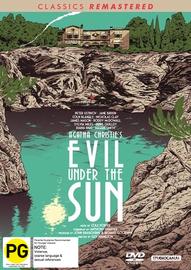 Evil Under the Sun on DVD