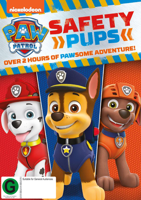 Paw Patrol: Safety Pups on DVD